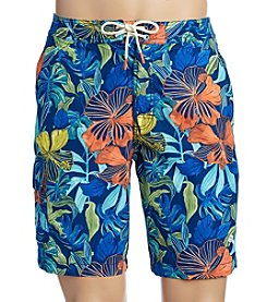Tommy Bahama Men's Baja Hibiscus Beach Swim Trunks