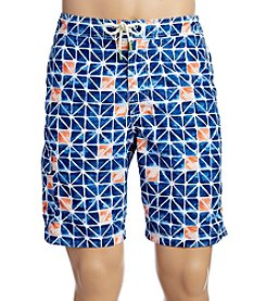 Tommy Bahama Men's Baja Jupiter Geo Swim Shorts
