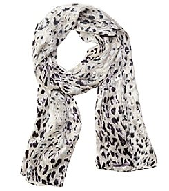 Collection 18 Shadow Cheetah Scarf