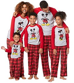 Briefly Stated Mickey & Minnie Family Pajamas