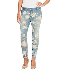 Jessica Simpson Kiss Me Skinny Embroidered Jeans