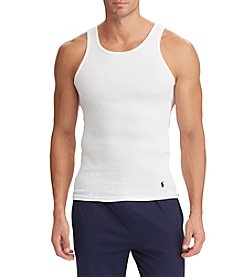 Polo Ralph Lauren Men's Five-Pack Classic Ribbed Tanks