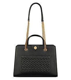 Anne Klein Quilted Pocket Chain Tote
