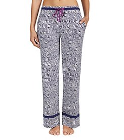 Cuddl Duds Houndstooth Pants