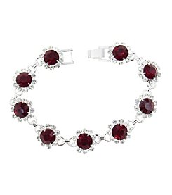 BT-Jeweled Crystal Bracelet