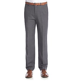 Tommy Hilfiger Men's Big & Tall Sharkskin Suit Separates Pants
