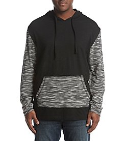 PX- Premium Expression Men's Big & Tall Colorblocked Raglan Hooded Tee