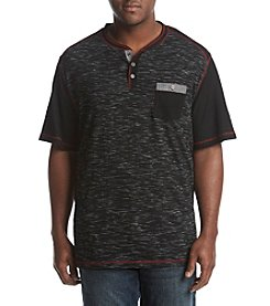 PX- Premium Expression Men's Big & Tall Short Sleeve Henley Tee