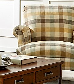 Broyhill Lenora Accent Chair Plaid