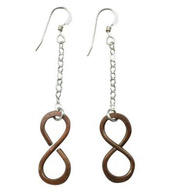 Lexi Butler Designs Copper Infinity Earrings