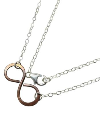 Lexi Butler Designs Copper Infinity Necklace