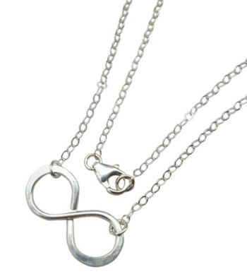 Lexi Butler Designs Sterling Silver Infinity Necklace