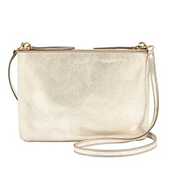 Fossil® Devon Metallic Crossbody