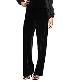 Alex Evenings Front Velvet Pants