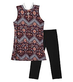 A. Byer Girls' 7-16 Sleeveless Tunic And Leggings