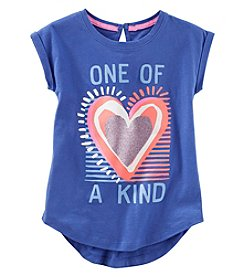 OshKosh B'Gosh Girls' 4-8 Short Sleeve One Of A Kind Tunic