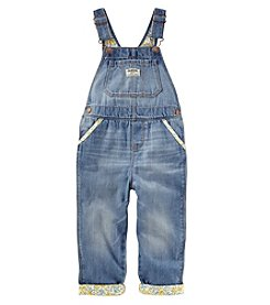 OshKosh B'Gosh Girls' 2T-5T Overalls With Trim Details