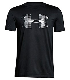 Under Armour Boys' 8-20 Short Sleeve Tech Big Logo Solid Tee
