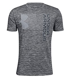 Under Armour Boys' 8-20 Short Sleeve Crossfade Tee