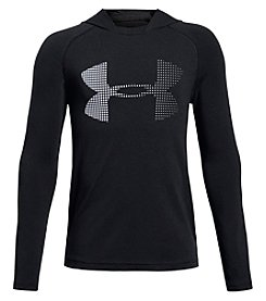 Under Armour Boys' 8-20 UA Knit Long Sleeve Hoodie