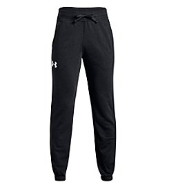 Under Armour Boys' 8-20 Cotton French Terry Joggers