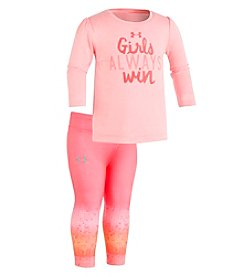 Under Armour Baby Girls' 12M-24M Girls Always Win Set