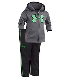 Under Armour Baby Boys' 12-24M Textured Bias Hoodie Track Set
