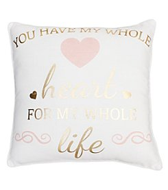 Decorative You Have My Heart Pillow