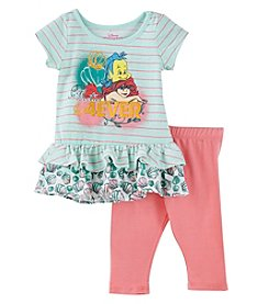 Disney Girls' 2T-4T Ariel Besties Tunic And Leggings