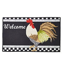 Nourison Welcome Rooster Rug