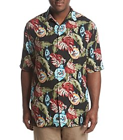 Tommy Bahama Men's Big & Tall With Bells On Camp Shirt
