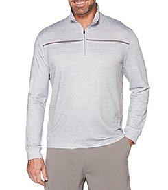 PGA TOUR Men's Brushed Chest Striped Pullover