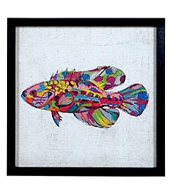 Sterling Coastal Colors I - Rainbow Fish Artwork