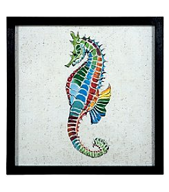Sterling Coastal Colors II - Sea Horse Artwork
