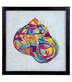 Sterling Coastal Colors IV - Rainbow Snail Artwork