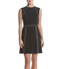 MICHAEL Michael Kors Pyramid Stud Zip Dress