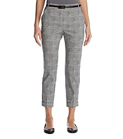 Studio Works Cropped Belted Trousers