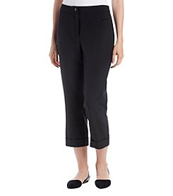 Studio Works Slim Fit Cropped Cuff Pants