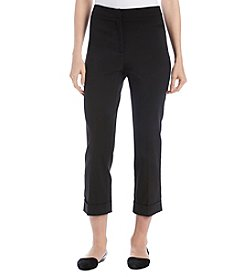 Studio Works Slim Fit Cropped Cuffed Pants