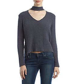 Hippie Laundry Mock Neck Gigi Sweater Top