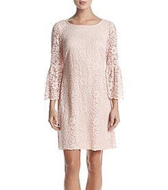 Nine West Bell Sleeve Lace Dress