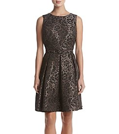 Nine West Princess Seam Pleat Dress