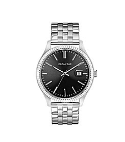 Caravelle by Bulova Men's Coin Edge Bracelet Dress Watch