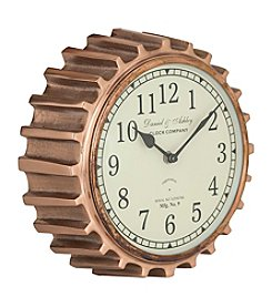 Sterling Aged Copper Clock