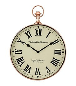 Sterling Polished Copper Wall Clock