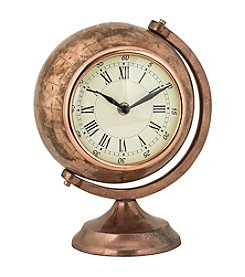 Sterling Table Top Clock Globe