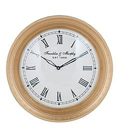 Sterling Carfax Crossing Wall Clock