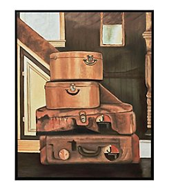 Sterling Leather Luggage Artwork