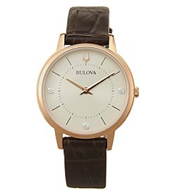 Bulova Women's Diamonds Collection Watch