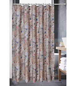 PB Home Post Card Shower Curtain